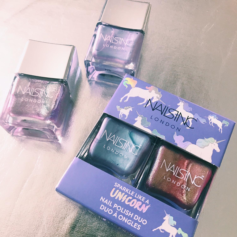 Nails Inc\'s Unicorn Nail Polish // My Mani Of The Moment